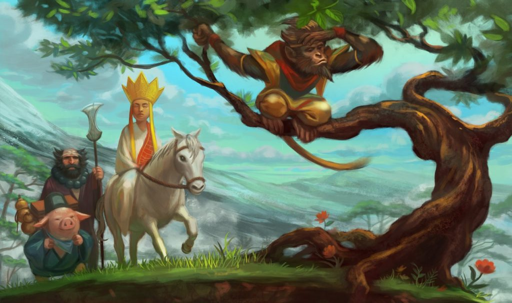 Journey to the West by Wu Cheng'en