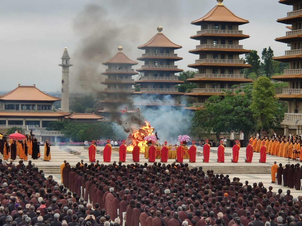 Final ceremony of the Dharma Service