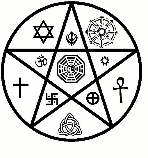A typical New Age symbol