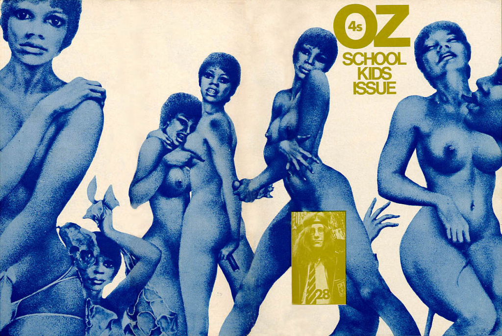Cover of the independent magazine Oz, n. 28, which, being destined for children, caused quite a scandal