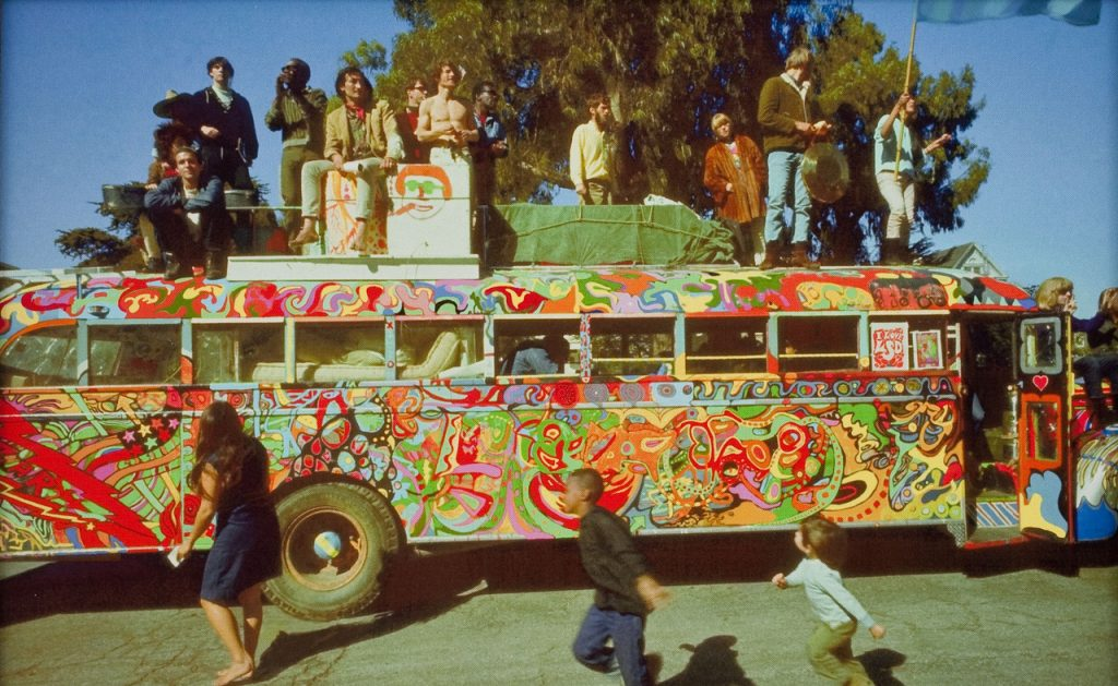 Furthur bus of the Merry Prankers
