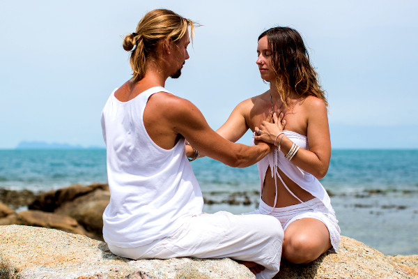 Photo of a well-known tantra course in Koh Phangan