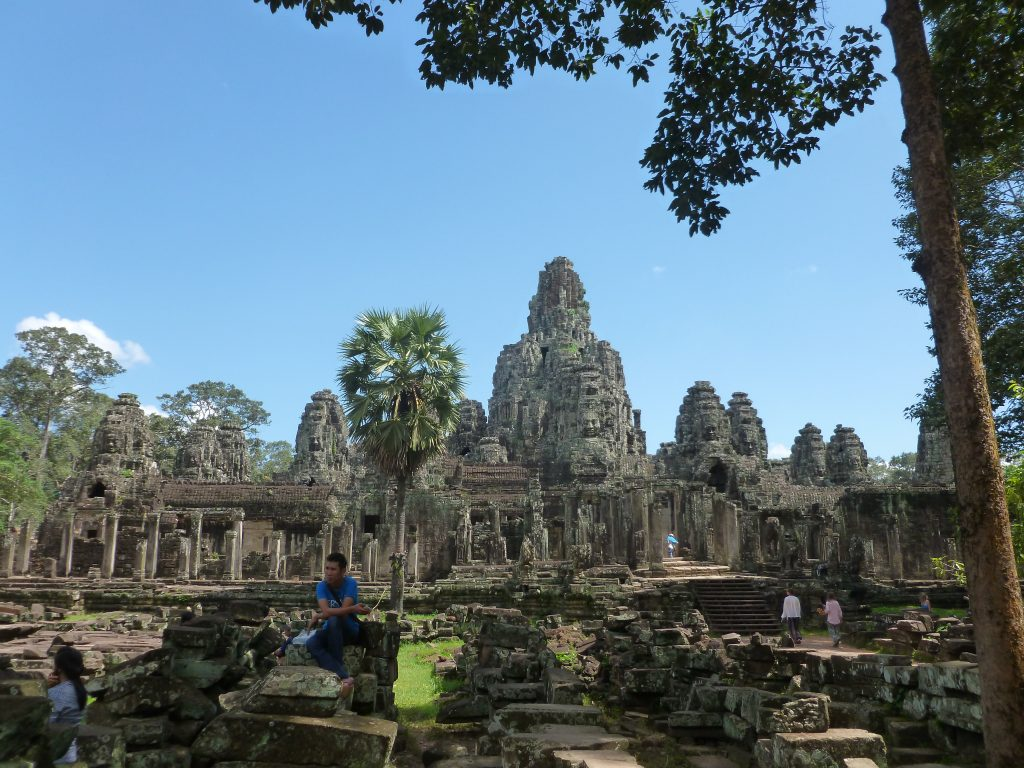 Part of the spectacular Angkor Wat complex