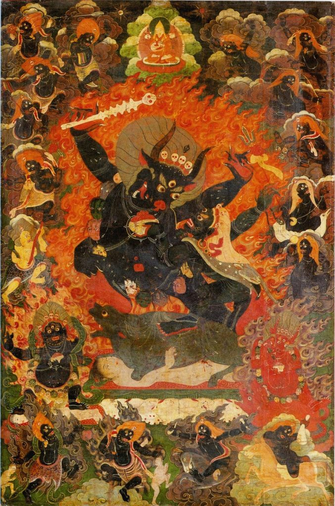 Example of a Buddhist hell